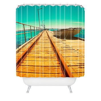 Happee Monkee The Jetty Shower Curtain
