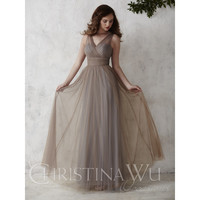 Christina Wu Occasions 22667 Tulle Bridesmaid Dress