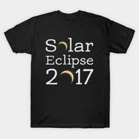 Circle Total Solar Eclipse Celestial Fanatic T-shirt by trendyshirts