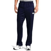 adidas Men's adi Firebird Track Pant (Fairway, White, X-Large)