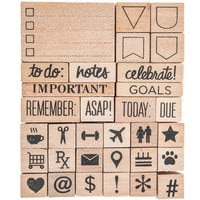 Planner Rubber Stamps | Hobby Lobby | 1401678