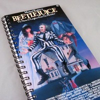 BeetleJuice Recycled Notebook Sketch Pad