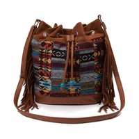 Womens Tribal Print Handbag