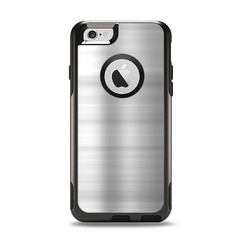 The Brushed Metal Surface Apple iPhone 6 Otterbox Commuter Case Skin Set