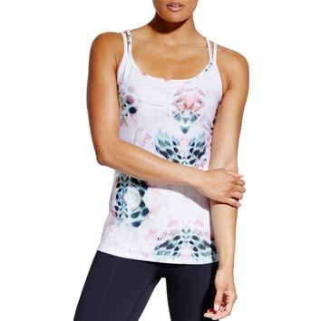 CALIA by Carrie Underwood Women's Printed Double Strap Tank Top | CALIA Studio