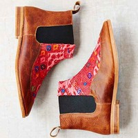 Osborn Nahuala Leather Chelsea Boot- Brown Multi