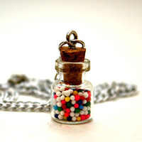 Mini Gum Ball Bottle Necklace - Stand Up to Bullying