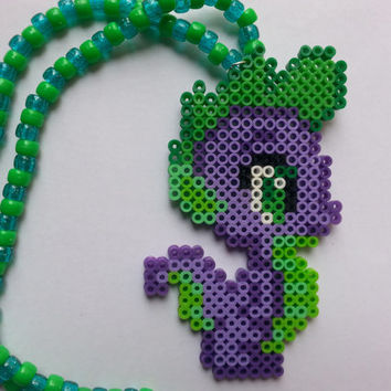 My little pony kandi necklace // my little pony // kandi necklace