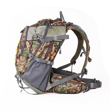 JUNGLEMAN Waterproof Unisex Photography Camouflage Bow Backpack Hanging Bear Survival Backpack KUDU Military Army Bags