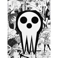 Soul Eater Death Shinigami Comic Art Anime For iPhone 6 Hard Case Cover