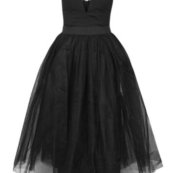 **Bustier Tutu Midi Dress by Rare - Topshop