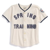 Boy's Peek 'Spring Training' Baseball Jersey,