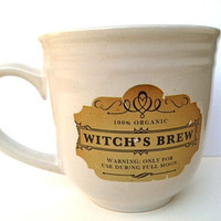 Halloween Witches Brew mug by squackdoodle on Etsy