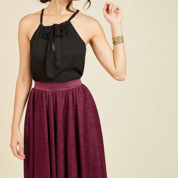 Tulle of the Trade A-Line Skirt