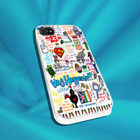 One Direction Love Art For iPhone 4/4s,5/5s/5c, Samsung S3,S4,S2, iPod 4,5, HTC ONE
