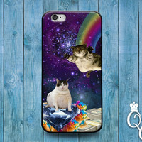 iPhone 4 4s 5 5s 5c 6 6s plus + iPod Touch 4th 5th 6th Generation Custom Phone Case Cute Cat Cats Galaxy Space Diamond Money Funny Fun Cover