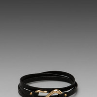 Gorjana Sadie Triple Wrap Bracelet in Black from REVOLVEclothing.com