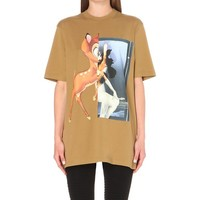 GIVENCHY - Bambi-print cotton-jersey t-shirt | Selfridges.com