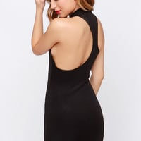 LULUS Exclusive To the Nines Black Bodycon Dress