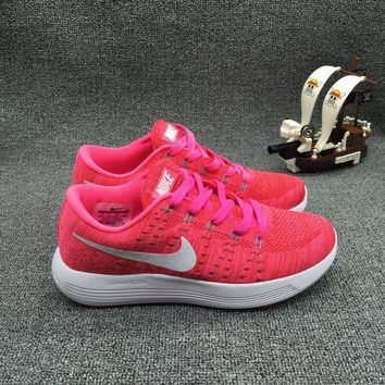 """Nike LunarEpic Low Flyknit"" Women Sport Casual Flywire Sneakers Running Shoes"