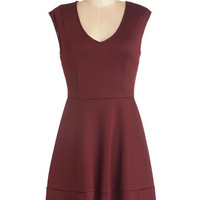 ModCloth Short Length Sleeveless A-line Specialty Chili Dress