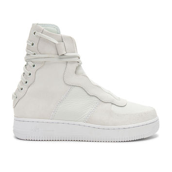 Nike Rebel Sneaker in Off White & Light Silver