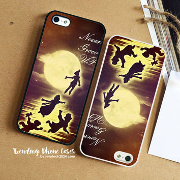 Peterpan Never Grow Up iPhone Case Cover for iPhone 6 6 Plus 5s 5 5c 4s 4 Case