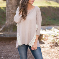 Amore To Love Top, Mocha