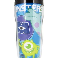 Blue Laugh Power Monsters Inc Travel Coffee Cup - Monsters Inc Thermos