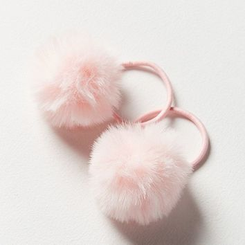 Pompom Ponytail Holder | Urban Outfitters