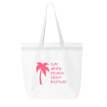 Organic personalized tote bag, family vacation totes, beach vacation tote bags, bachelorette party bags, bridal party tote bags, cruise tote