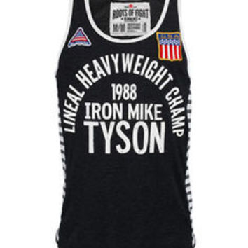Roots of Fight Tyson Iron Mike 1988 Tank