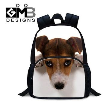 Boys bookbag trendy Cute Baby Backpacks Fashion Small Back Pack Lightweight for Little Gilrs Kids Dog School Bags Animal Felt s for Boys AT_51_3