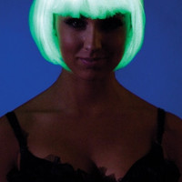 Glow in the Dark Bob Wig