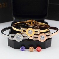 Bvlgari Diamonds Women Fashion Plated Bracelet