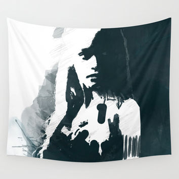 Daenerys / Khaleesi of Game of Thrones Wall Tapestry by Allison Reich