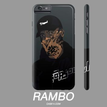 Bryson Tiller Trapsoul Rambo Apple IPhone Phone Case 4 5 6 6s Plus Samsung Galaxy s5 s6 - Case15