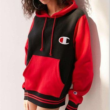 Champion Women Casual Top Sweater Pullover Hoodie