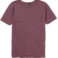 Alexander Wang Brushed Cotton-Jersey T-Shirt | MR PORTER
