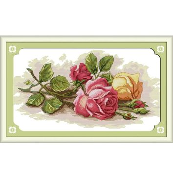Roses - Counted Cross Stitch Kit