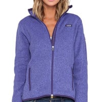 Patagonia Better Sweater Jacket in Purple