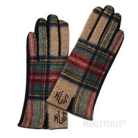 Monogrammed Gloves | Marleylilly