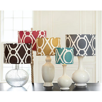 camargo limited edition lamp shade from ballard designs tasseau table lamp accessories ballard designs