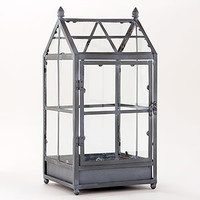 Metal and Glass House | Decorative Accessories| Home Decor | World Market