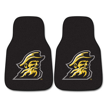 Appalachian State Mountaineers NCAA Car Floor Mats (2 Front)