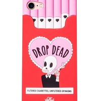 Drop Dead 3D iPhone Case