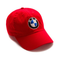 "Club Foreign Logo Hat ""Bavarian Motor Works"" - Red"