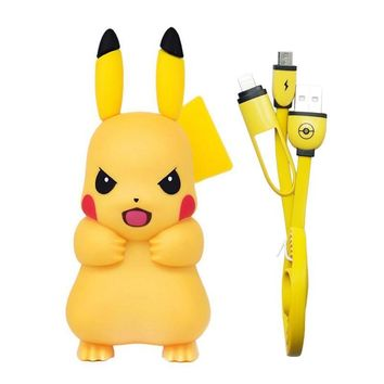 For iPhone Charger, Pocket Monster  Go Cute Pikachu Design Pop for iPhone 6 Mobile Charger USB Adapter Charger SocketKawaii Pokemon go  AT_89_9