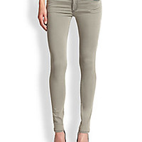 True Religion - Halle Mid-Rise Super Skinny Jeans - Saks Fifth Avenue Mobile