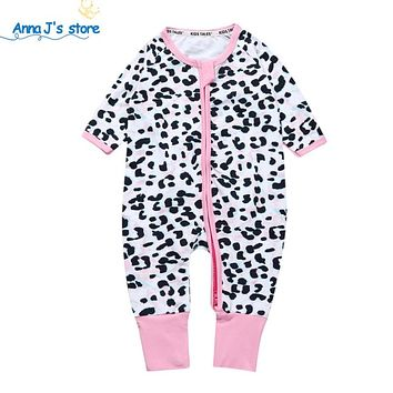 Baby boys girls clothes Spring and fashion clothing newborn baby girls girl leopard print tights